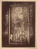 Mosaico bizantino, S. Sebastiano barbuto: chiesa di S. Pietro in Vincoli: Roma