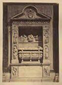 Monumento funebre del cardinale Pietro Riario del Bregno, Giovanni Dalmata e Mino da Fiesole: basilica dei Ss. Apostoli: Roma