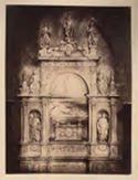 Monumento del cardinale Ascanio Sforza di Andrea Sansovino: chiesa di S. Maria del Popolo: Roma