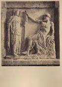 Palermo: museo: metope di Selinunte: Giove e Semele