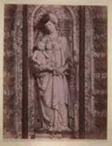 Trapani: chiesa di s. Maria del Gesù: la Madonna col figlio