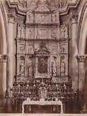 Monte S. Giuliano: cattedrale: altare in marmo: (opera dei Gagini)