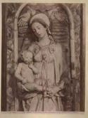 Trapani: chiesa di s. Maria del Gesù: la Madonna col figlio: dettaglio