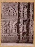 Arezzo: cattedrale: un dettaglio della fronte dell'altare maggiore