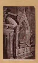 Firenze: chiesa di S. Croce: monumento a Bettino dei Bardi
