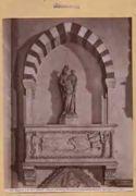 Firenze: chiesa di S. M. Novella: monumento di Aldobrandino Cavalcanti: (ignoto del 13. secolo)
