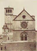 Assisi: basilica di san Francesco: facciata e campanile