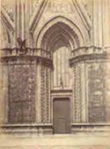 Orvieto: duomo: porta