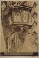 Perugia: pulpito di s. Bernardino: medio evo