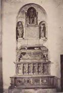 Orvieto: chiesa di s. Domenico: monumento al cardinale Guglielmo de Braye