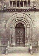 Foligno: chiesa di s. Feliciano: portale
