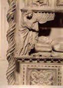 Dettaglio: monum[ento] al b[eato] Benedetto 11.: chiesa s. Domen[ico]: Perugia