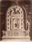 Bolsena: cattedrale s. Cristina: altare di Luca Della Robbia