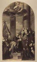 Madonna di Ca' Pesaro: navata sinistra: chiesa di s. Maria Gloriosa dei Frari: Venezia