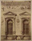 Venezia: palazzo Ducale: particolare della facciata sul cortile dei Senatori