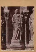 Venezia: chiesa dei Ss. Giovanni e Paolo: monumento al doge Michele Morosini: (15. secolo)