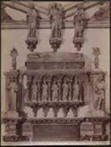 Venezia: chiesa dei Ss. Giovanni e Paolo: monumento al doge Antonio Venier: (scuola di Iacob. delle Masegne)
