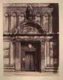 Venezia: chiesa di s. Zaccaria: portale marmoreo