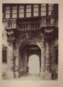 Verona: palazzo del Capitano: porta dei Bombardieri