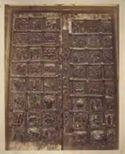 Verona: basilica di s. Zeno maggiore: portale con 24 formelle bronzee