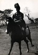 Kabbada Dabbaso a cavallo al galoppo: Bonga, dic. 1938