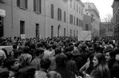 Corteo degli studenti dell'istituto tecnico Belluzzi: Bologna, 20 febbraio 1969
