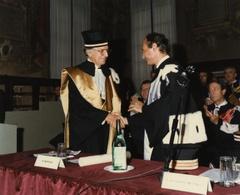 Laurea honoris causa a Pietro Barilla