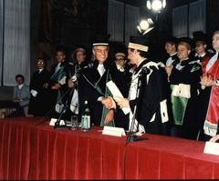 Laurea honoris causa a Raul Gardini