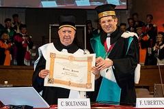 Laurea honoris causa a Christian Boltanski e consegna dei diplomi ai Professori Emeriti