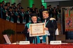 Laurea honoris causa a Maurizio Marchesini