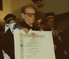 Laurea honoris causa a Norberto Bobbio