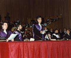 Laurea honoris causa ad Alexander Dubcek