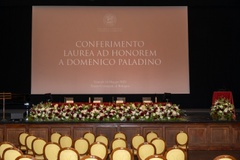 Laurea honoris causa a Domenico Rosario Paladino