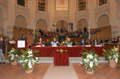 Inaugurazione dell'anno accademico 2004-2005. Ospite d'onore l'Ambasciatore Lakhdar Brahimi