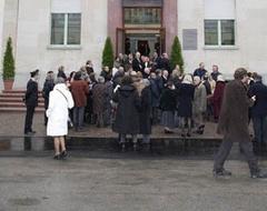 Inaugurazione della palazzina Goidanich