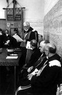 [Discorso del rettore Alessandro Ghigi: inaugurazione del corso in radiocomunicazioni: aula magna della facoltà di ingegneria di Bologna: 16 gennaio 1943]