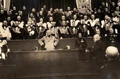 Cerimonie accademiche: 1936 - 1943