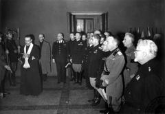 Cerimonie accademiche: 1939 - 1950