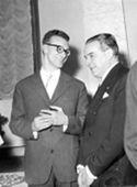 [Alcuni invitati alla festa del collegio universitario Irnerio: Bologna: gennaio 1956]