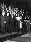 [Discorso del rettore Felice Battaglia per il conferimento della laurea ad honorem agli studenti caduti in guerra: celebrazione del decennale della Resistenza: aula magna dell'università di Bologna: pomeriggio del 15 ottobre 1955]