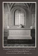[Cappella con la tomba di Luigi Galvani e di Lucia Galeazzi Galvani: chiesa del Corpus Domini, Bologna]