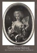 [Lucia Galeazzi Galvani: ritratto del secolo XVIII (proprietà eredi Ferretti Bologna)]