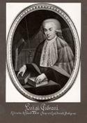 [Luigi Galvani: ritratto del secolo XVIII (proprietà eredi Ferretti Bologna)]