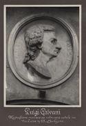 [Luigi Galvani: medaglione marmoreo nella casa natale via [delle] Casse n. 25, Bologna]
