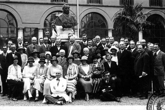 Cerimonia storica - Congresso medico Rizzoli 1924
