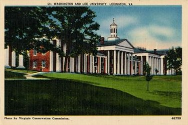 Cartolina - Washington and Lee University